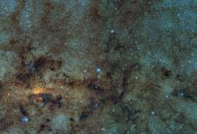 RR Lyrae-type variable stars (not RR Lyr itself) close to the galactic center from the VVV ESO public survey. Image Credit: Wikimedia Commons.