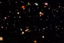 A small section of the Hubble Ultra Deep Field. Image Credit NASA / ESA / Wikimedia Commons.