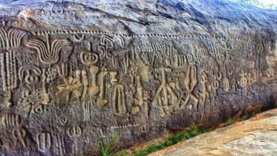The Pedra do Inga in Brazil, is covered in strange symbols that experts believe are depictions of stars, galaxies and even constellations.