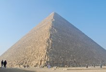 A breathtaking view of the Great Pyramid of Giza. Shutterstock.