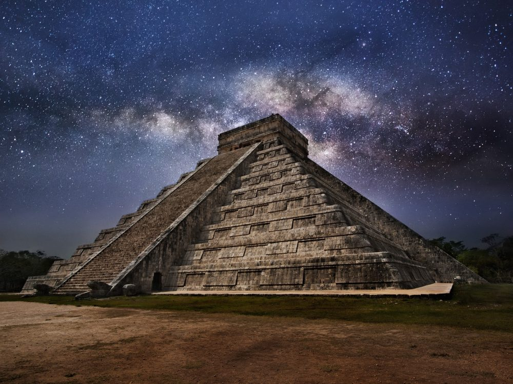 The Pyramid of Kukulkan at Chichen Itza. Shutterstock.