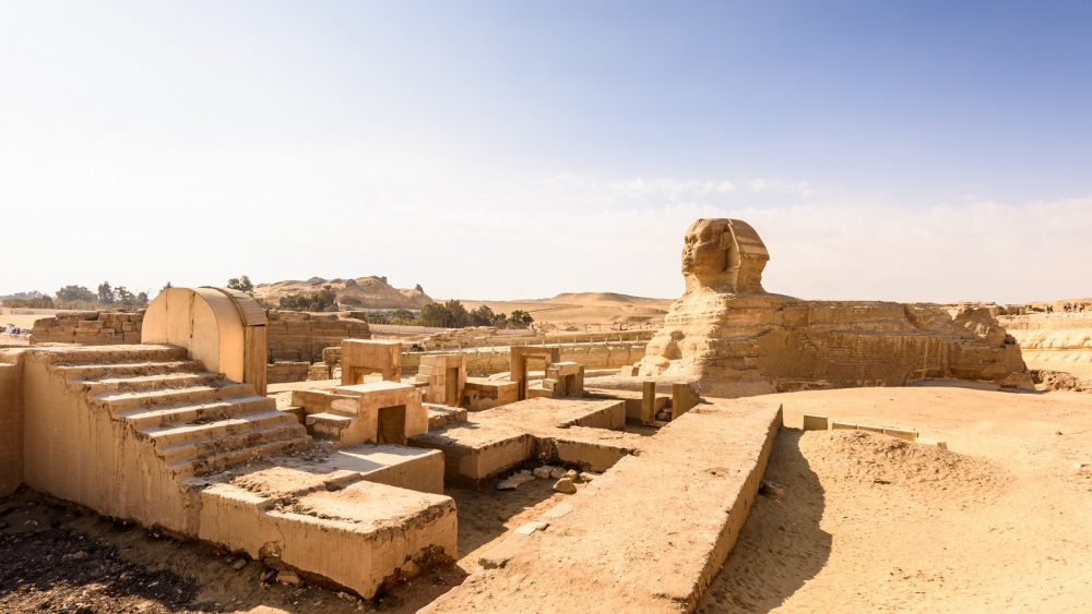 The Sphinx at Giza. Shutterstock.
