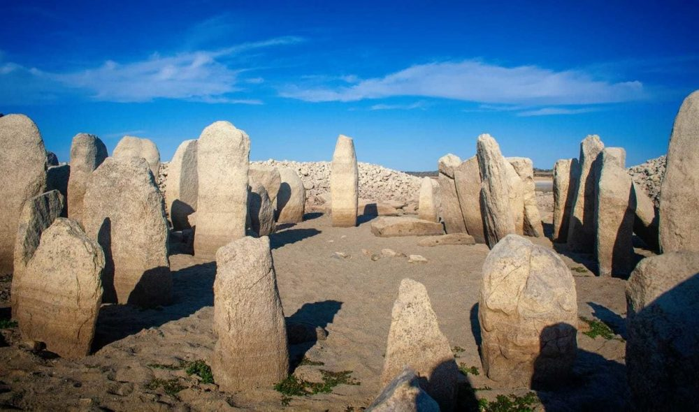 A view of the stones that make up the Dolmen of Guadalperal. Image credit: Ruben Ortega Martin/ Raices de Peraleda.