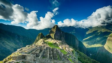 A view of the ancient Inca city of Macchu Picchu. Shutterstock.