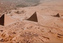 Photo of Fly Over The Pyramids In This Stunning Aerial Video of the Ancient Giza Pyramids