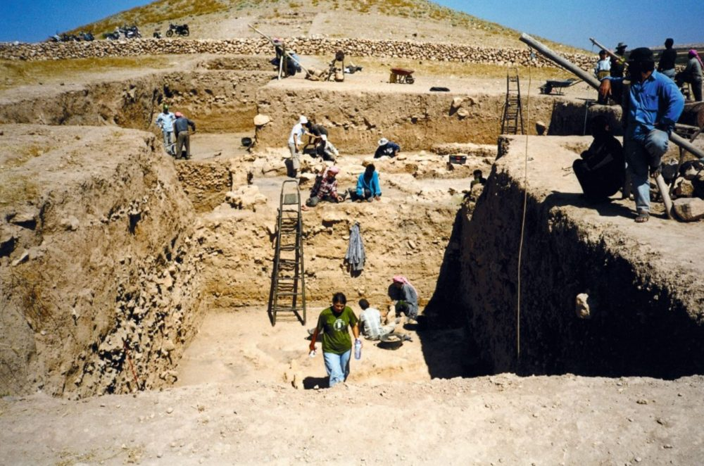 An image of the archaeological excavations at the site. Image Credit: R.F. Mazurowski.