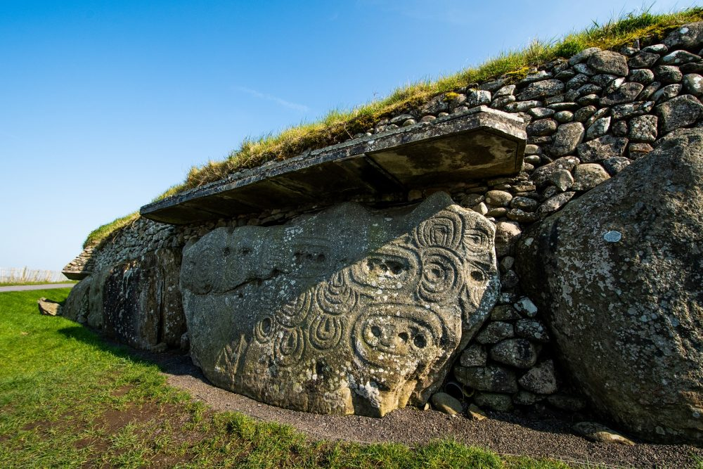 An image of Newgrange in Ireland, this site dates back more than 5,000 years ago. Shutterstock.