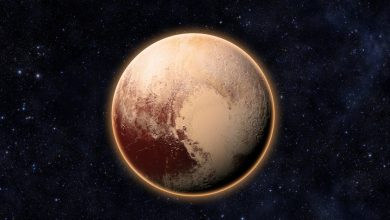An image of Dwarf Planet Pluto. Shutterstock.