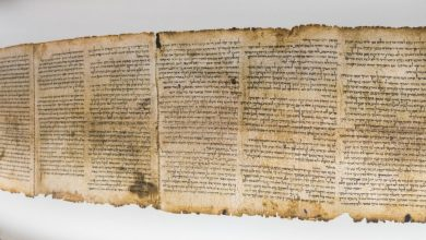 An image of the Dead Sea Scrolls. Shutterstock.