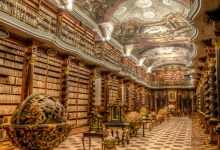 An image of the National Library of Prague Czech Republic. Image Credit: Sean Yan.