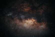An image showing outer space, star clusters and gas clouds. Jumpstory.
