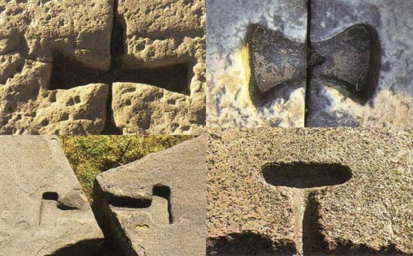 An image showing different examples of the t-shaped openings present in ancient sites across the globe. Curiosmos.