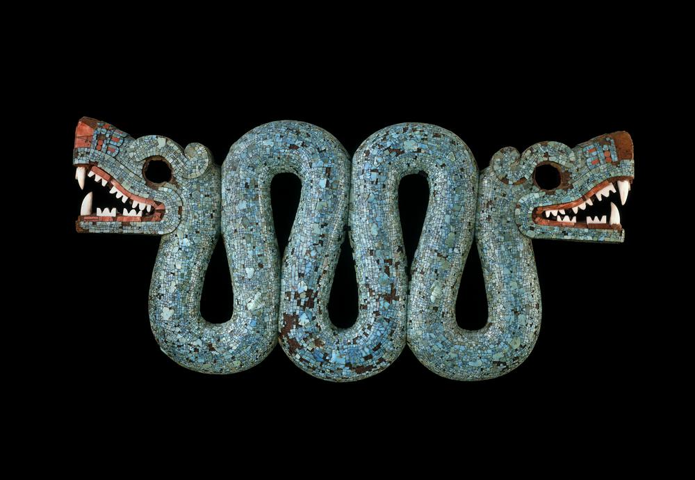 An image of the double-headed serpent. The artifact is housed at the British Museum. Image Credit: British Museum.
