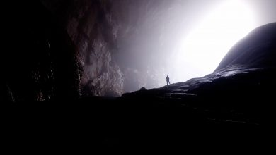 A cave in Vietnam. Jumpstory.