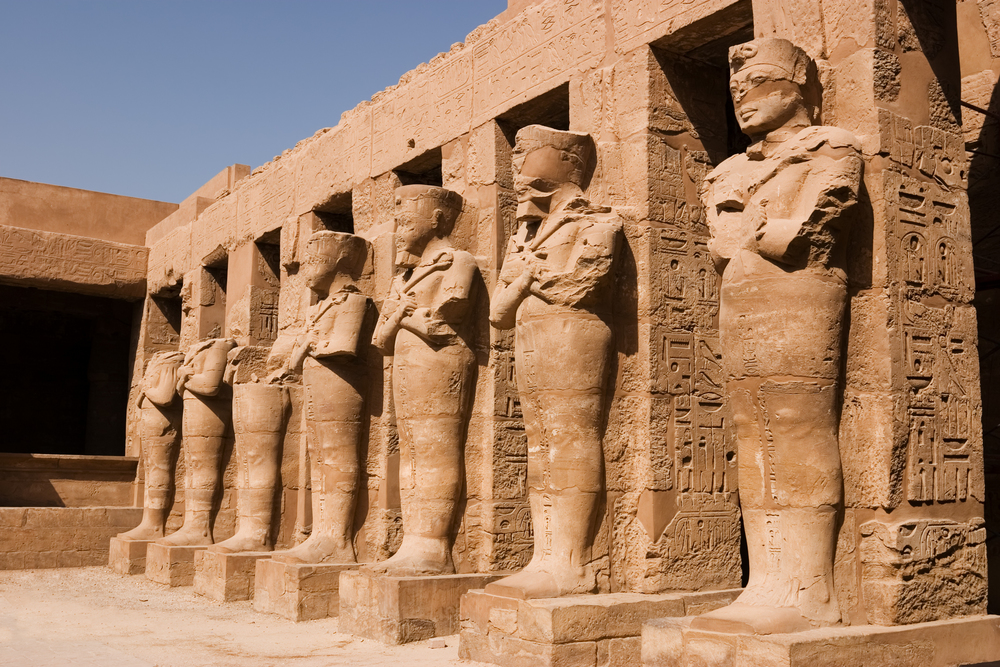 The temple of Karnak.