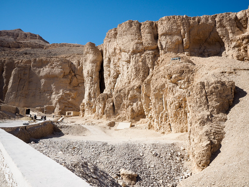 The Valley of the Kings in Luxor