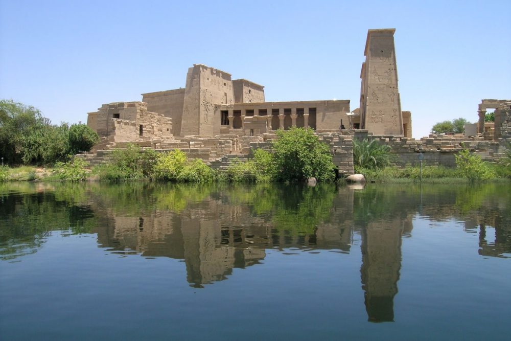 The Philae Temple in Aswan