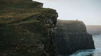 A Photograph of the cliffs off he coast if Ireland. Jumpstory.