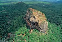 The Rock Fortress of Sigiriya which is often considered the 8th wonder of the world.
