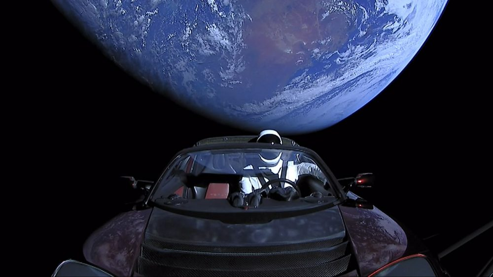 SpaceX's Roadster