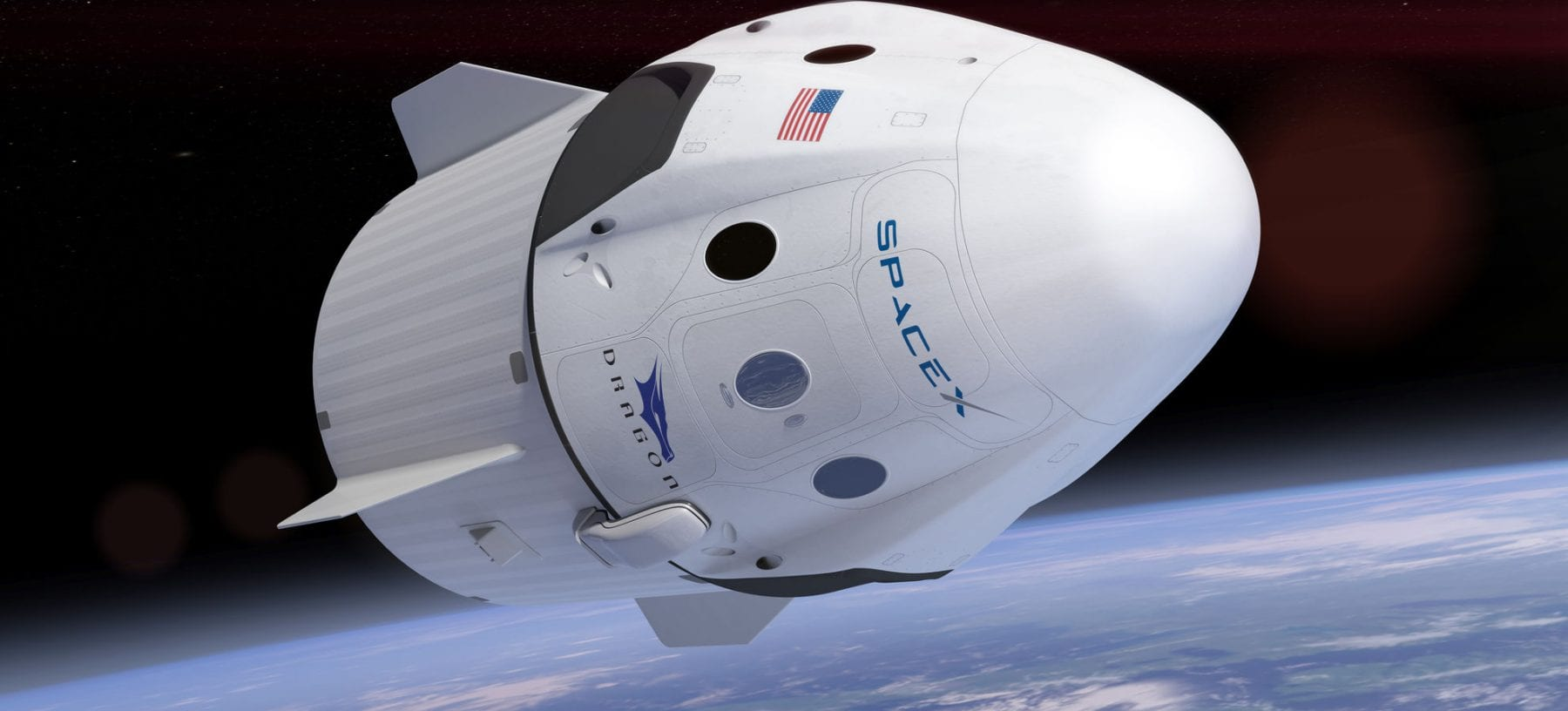 Space X's Crew Dragon capsule. Source: Universe Today
