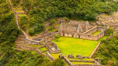 The marvelous archaeological site of Choquequirao which we will discuss below.