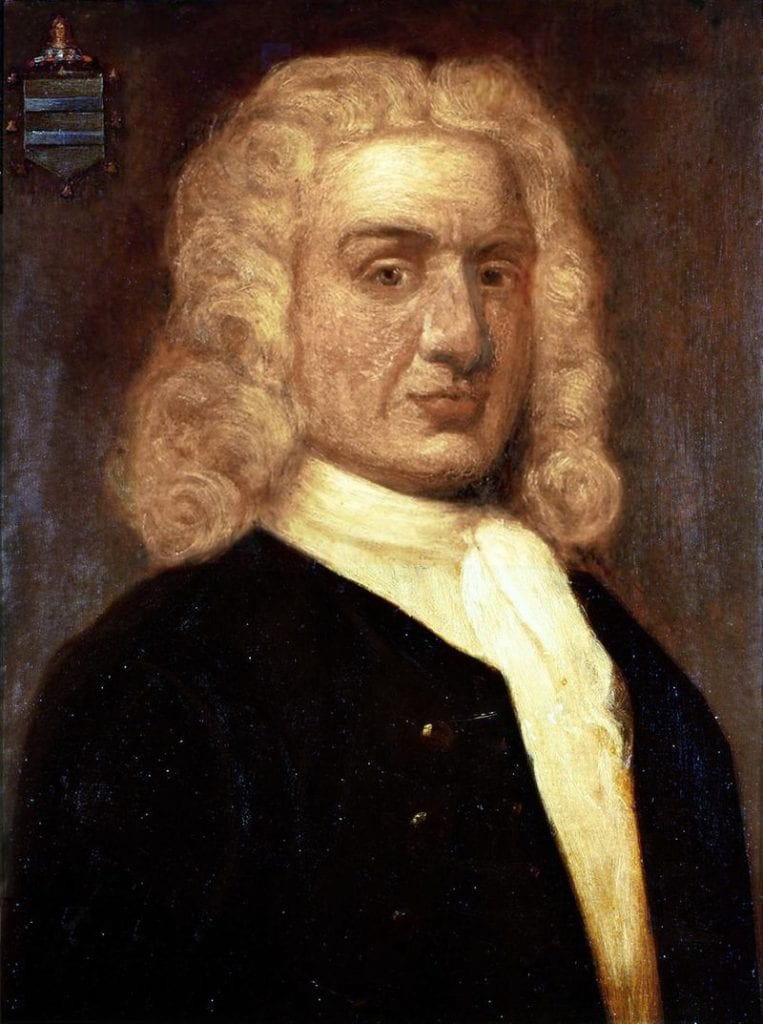 Portrait of William Kidd by English painter Sir James Thornhill. Credit: Wikipedia