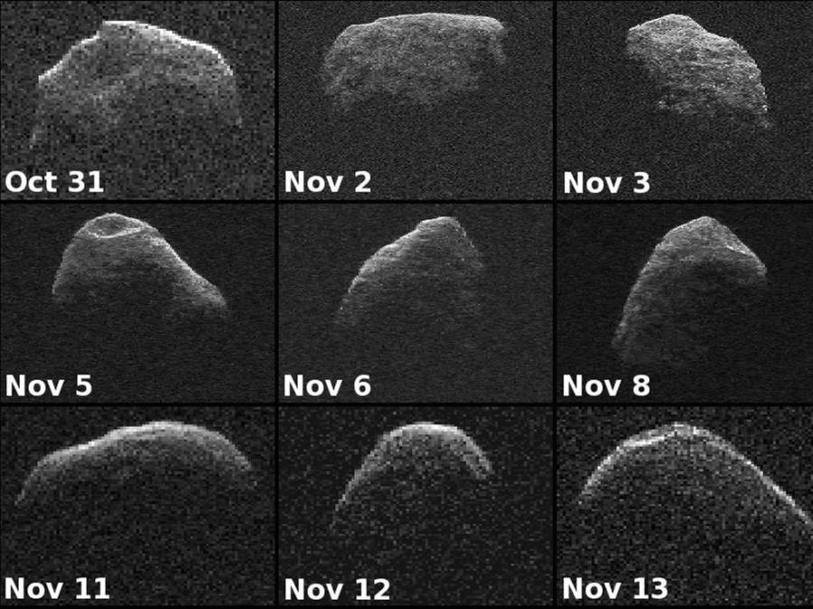 Images of the Apophis Asteroid from 2012. Credit: NASA