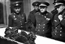 The remnants of Vladimir Komarov. Source: history.com
