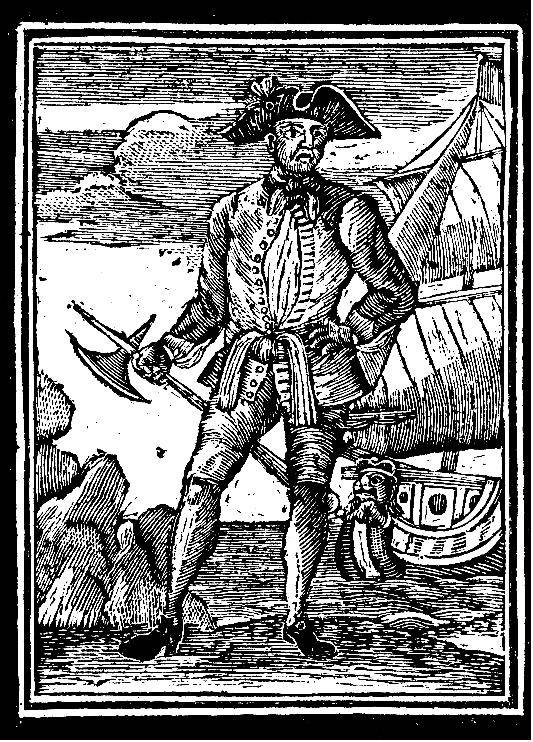 Illustration of pirate Edward England. Credit: Famous Pirates