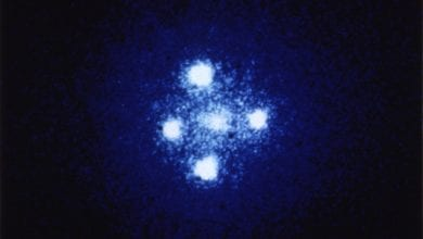 "Photo of Astronomers Have Found Two Mysterious ""Einstein Crosses"" In The Distant Universe"