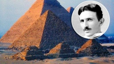 What's the connection between the Egyptian Pyramids and Nikola Tesla's studies and interests? Credit: Yandex Ru
