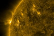 "2020 was a massive year for space exploration when it comes to the Sun. With the launch of the Solar Orbiter, scientists discovered many new things about or star, including the so-called ""campfires"" which you can see below. Credit: ESA"