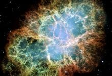 A Hubble image of the Crab Nebula Although it is not one of the largest objects in the universe and not even close to the ones we will discuss below, it is a clear example of how magnificent space is. Credit: NASA, ESA and Allison Loll/Jeff Hester (Arizona State University). Acknowledgement: Davide De Martin (ESA/Hubble)