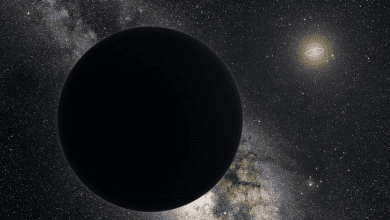 Is there a hidden massive planet in the outskirts of the Solar System? Scientists recently questioned the planet nine hypothesis. Credit: ESO/Tom Ruen/nagualdesign
