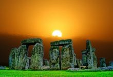 Archaeologists have found evidence that several of the stones at Stonehenge have been transpored from the ancient megalithic site at Waun Mawn in Wales. Credit: Jumpstory