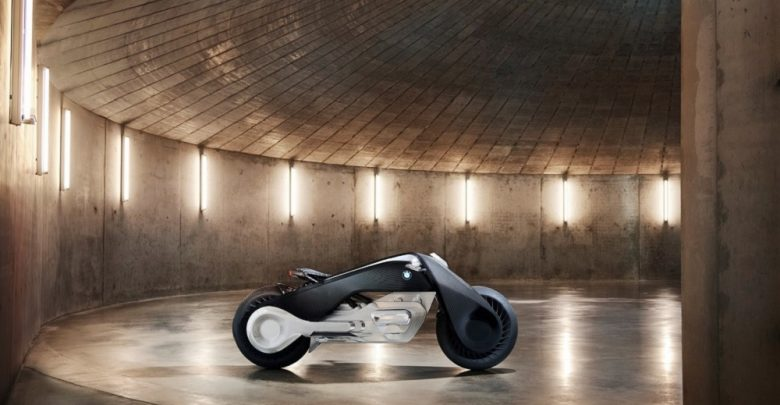 An image of BMW's Motorrad Vision Next 100