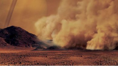 Photo of Dust Storms Spotted for the First Time on Titan Increase Chances for Alien Life