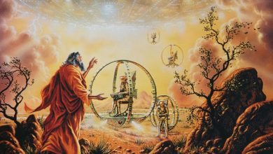 Photo of Ezekiel's WheeL; The First Description of an Actual UFO?