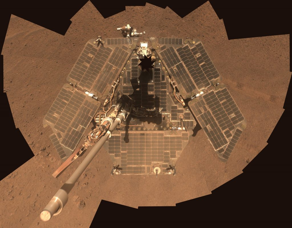 Opportunity Mission engineers hope the rover will eventually 'phone home'. Image Credit: NASA/JPL-Caltech/Cornell Univ./Arizona State Univ.