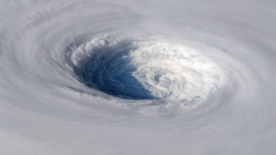 Photo of Astronaut Aboard ISS Captures Terrifying Images of Super Typhoon Trami