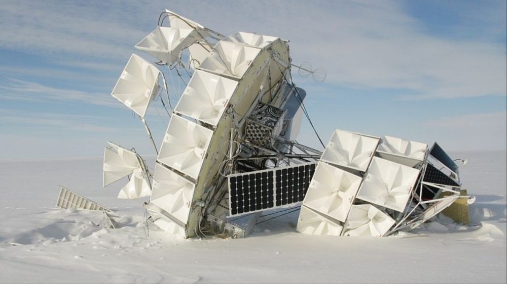 Mysterious Cosmic Rays Shooting from the Ground in Antarctica Could Break Physics