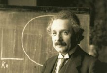 "Photo of Albert Einstein: God is a Product of ""Human Weakness"" and the Bible 'Primitive Legends'"