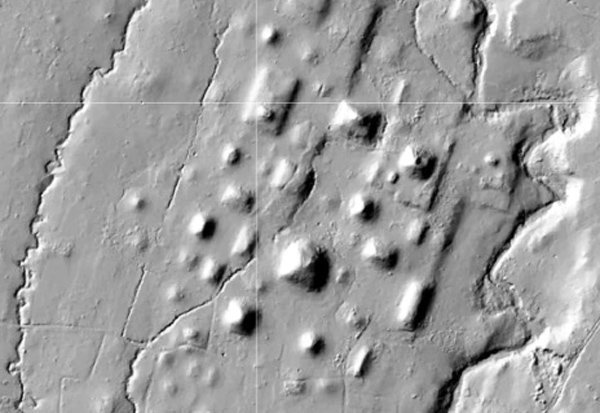 A network of satellite towns has been discovered in Southern Mexico. Image Credit: Antiquity, Rosenswig 2018