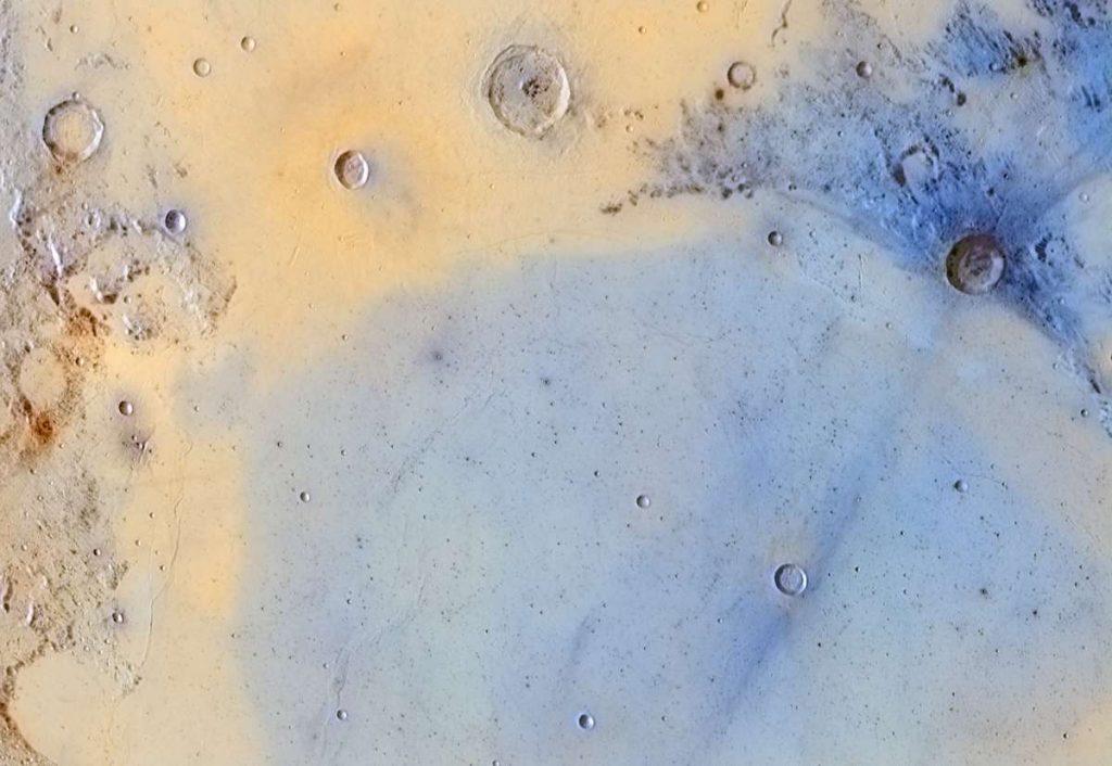 The boundary between Mare Serenitatis and Mare Tranquillitatis. Image Credit: Jordi Delpeix Borrell