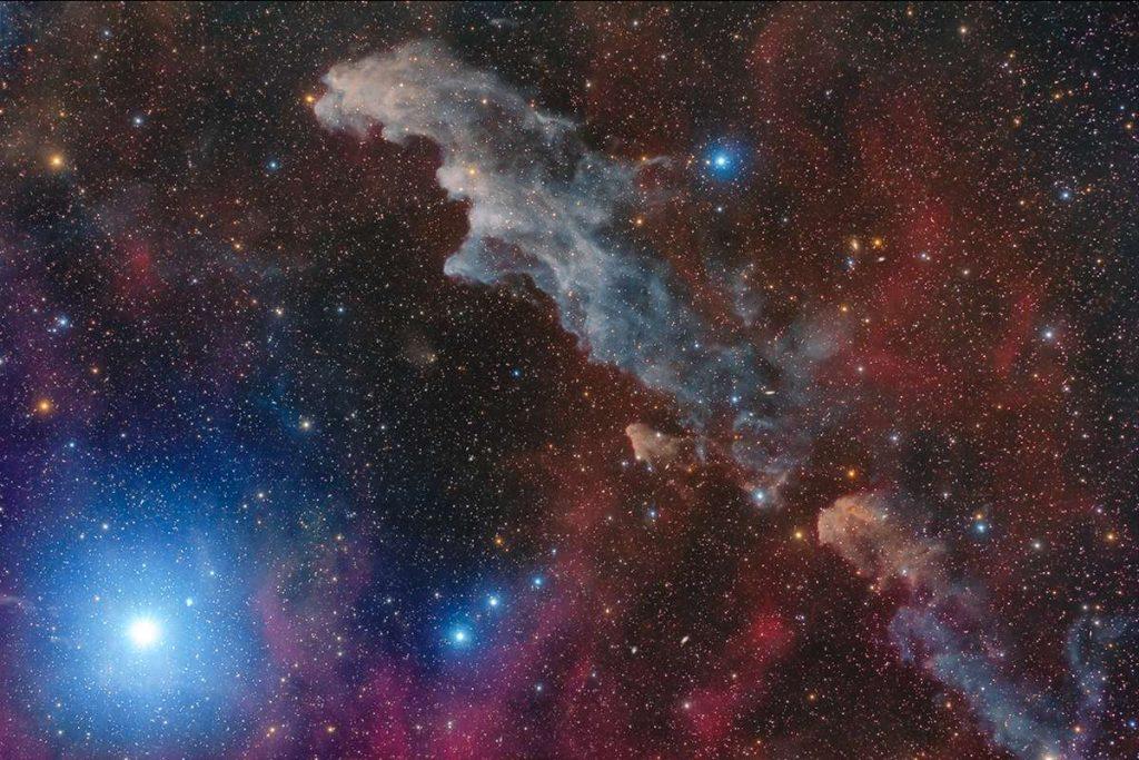Rigel and the Witch Head Nebula. Image Credit: Mario Cogo