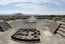 Photo of Underground Tunnels Found beneath Pyramid in Mexico Likely Contain 'Strange Skulls'