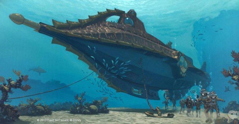 The Nautilus. Art: Dave McCamant