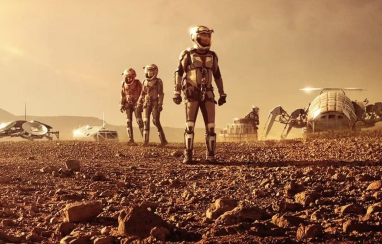 """""""MARS,"""" a six-part miniseries premiering on National Geographic Channel. Image Credit: National Geographic."""