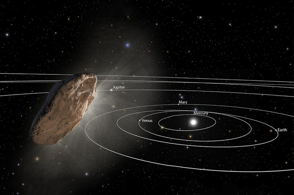 The mysterious space rock has raised controversy among experts.